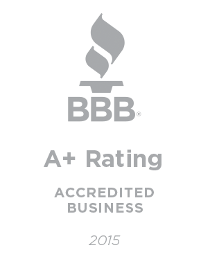 BBB A-Plus Accredited Business 2015